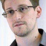 Portrait photo of Edward Snowden