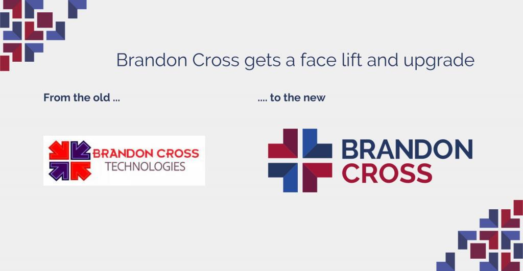 Brandon Cross Old and New Brand Logos